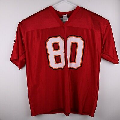 b708c84da Michael Clayton Football Jersey XXL #80 Tampa Bay Buccaneers * Size 2XL NFL  Red