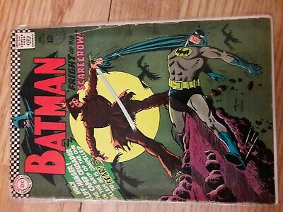 Batman (Vol. 1) #189 (DC, 1967) Good. 1st Silver Age Scarecrow! Great Issue