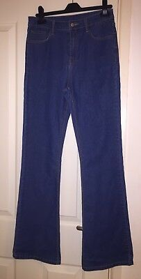 BNWOT Tallgirls Soft Blue Jeans Size 8 Long With Stretch