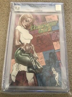 2001 J Scott Campbell DANGER GIRL Sketchbook CGC 9.8 First 1st Printing Variant