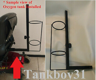 """Oxygen Tank Holder Mount for Pride Invacare Mobility Scooter Powerchair 4.5""""x20"""""""