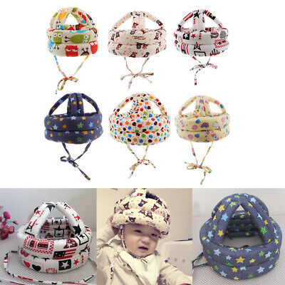 Toddler Baby Safety Helmet Infant Head Protection Hats Caps Walking & Crawling