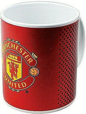 Manchester United Fc Football 11Oz Ceramic Tea Coffee Crest Mug Club Cup Mufc