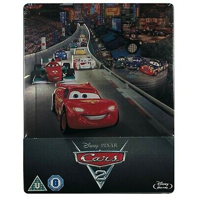 Cars 2 Steelbook - UK Exclusive Limited Edition Blu-Ray