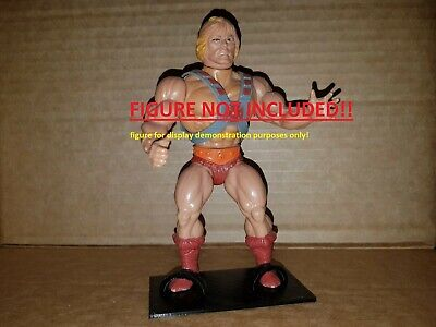 Masters of the universe MOTU, He-Man figure stands
