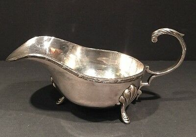 Silverplate Gravy Boat By EP IS India Collectible