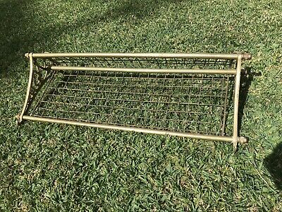 NSW Railway Brass Luggage Rack Old and Original