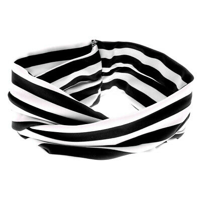 Newborn Baby Kids Children Stripe Knot Soft Headband Cotton Turban Headwear