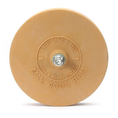Caramel Pinstripe Decal Eraser Wheel Pad Sticker Removal ool 4000 RPM 88*15mm