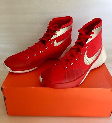 competitive price 98d4d 03d1f Nike Hyperdunk 2015 TB Basketball Shoes University Red 812944-601 Mens 13.5