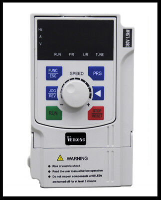VFD200 smart mini variable frequency drives 1.5kw 2hp single phase