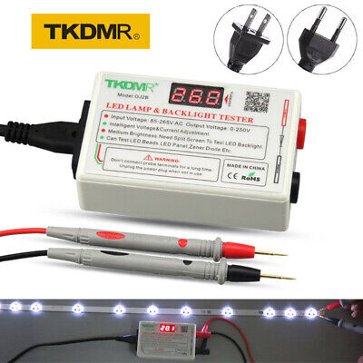 LED LCD Backlight Tester TV Repair Tool Lamp Beads TKDMR GJ2B 85V-265V input
