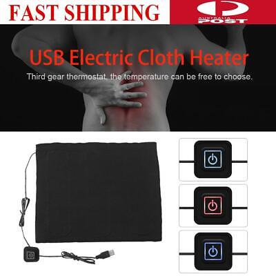 5V 3-Shift USB Electric Cloth Heater Pad Heating Element Warmer Pad Waterproof