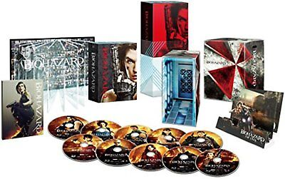 Resident Evil Ultimate Completo Caja Blu-Ray con / Tracking # Nuevo From Japan