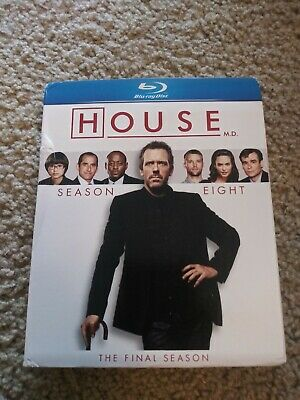 -READ-House M.D.  8th Season Blu-Ray ONE REPLACEMENT DISC ONLY
