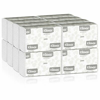 Kleenex Paper Towels Multi-Fold 1-Ply 9.3 X 9.4 Inch Soft Case of 2400