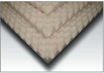 Mattress Overlay Convoluted Foam 3 X 34 X 72in1 Count