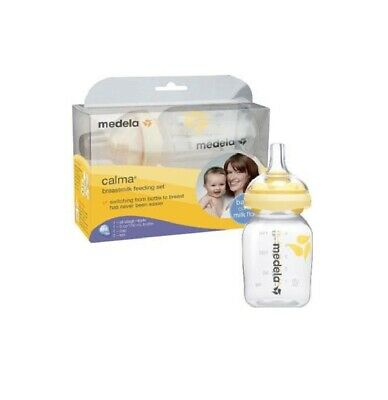 Medela Calma Breastmilk Feeding Set with 5 oz Bottle, 1 Count