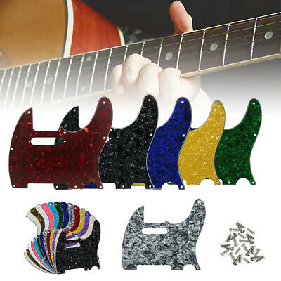 8 Hole Strat Stratocaster Electric Guitar Pickguard Scratch Plate USA MEX FIT