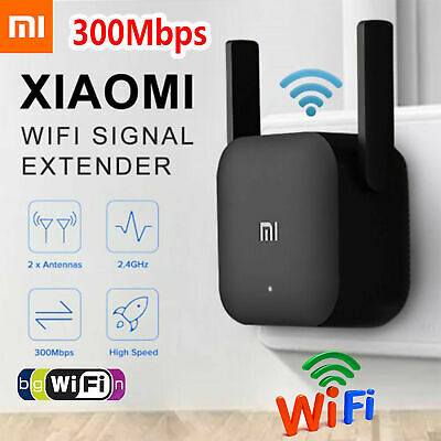 Xiaomi WiFi Amplifier Pro 2.4G Wireless Repeater 300Mbps Extender Signal Router