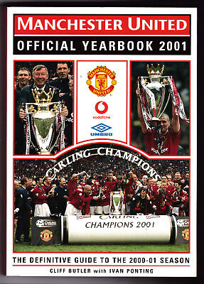 The Official Manchester United Yearbook 2001, Good, Paperback (W)
