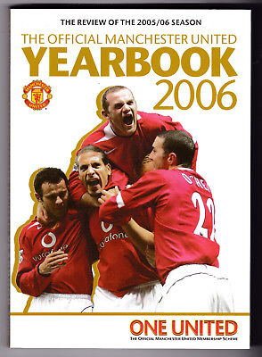The Official Manchester United Yearbook 2006, Good, Paperback (W)