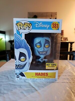 FUNKO POP HADES #381 (Hot-Topic exclusive) Glow in the dark