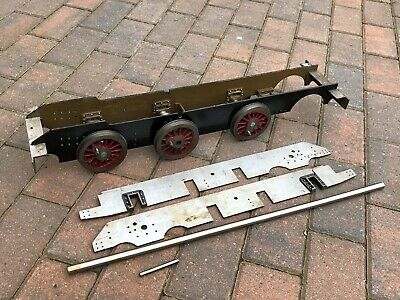 "Large Scratch Built Live Steam Locomotive Train Chassis Etc 3 1/2"" Gauge ?"