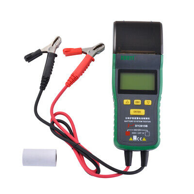 DY2015B Battery Tester 12V With Print Battery Capacity Tester Detection MA1904