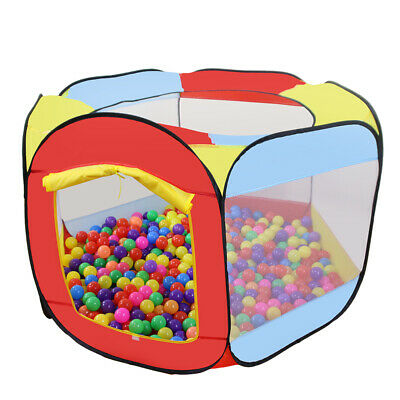 Folding Portable Playpen Baby Kids Play Yard W/ Travel Bag In/ Outdoor Safety US