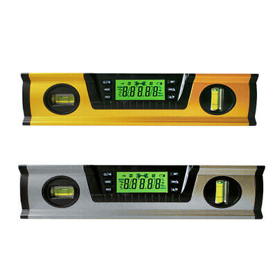 291mm Digital Angle Finder Level 360 Degree Spirit Level with Magnets Protractor