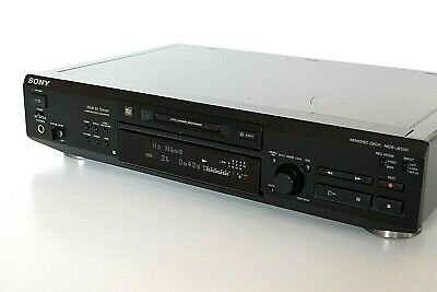 Sony MDS-JE520 Minidisc Deck Hi-Fi Stereo Separate MD Player Recorder - JAPAN