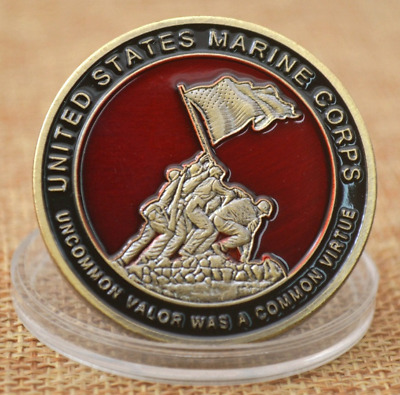 Green bronze US Marine Corps Coin Collection Art Gift Commemorative Coins Gifts!