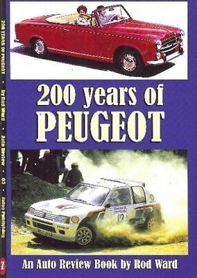 200 Years Of Peugeot - Auto Review Book