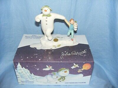 John Beswick The Snowman Taking Off Raymond Briggs JBS15 Brand New