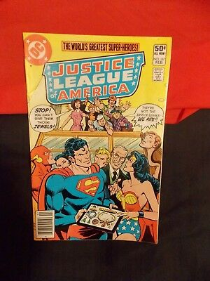 Justice League Of America # 187 Dc Feb 1981 Superman Wonder Woman Zatana Flash