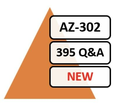 AZ-302; 395 Q&A, PDF FILE! Azure Solutions Architect Certification Transition!