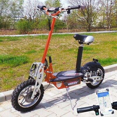 Trottinette électrique adulte e-Scooter 1000W Viron Motors Orange