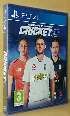 Cricket 19 The Official Game of the Ashes PS4 Pre-Order Release Date 31/05/19
