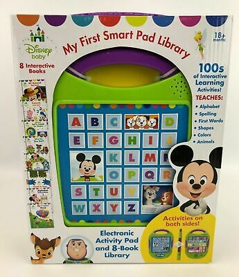 Disney Baby My First Smart Pad Library Electronic Educational Activity Pad