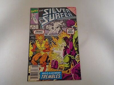 SILVER SURFER - VOL 3 - No 52 - EARLY AUG 1991 - COMIC