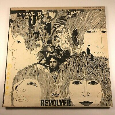 The Beatles ‎– Revolver VINYL LP ST 2576 ST-2576 1966 PRESSING