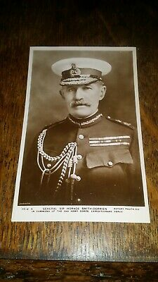 1914 Antique Real Photograph Rp Postcard General Sir Horace Smith-Dorrien Rotary