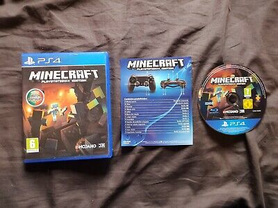 MINECRAFT Sony Playstation 4 Game PS4