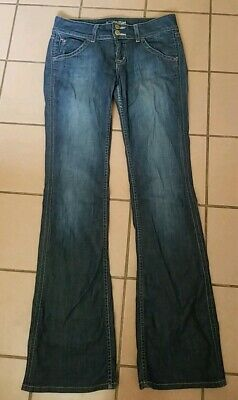 8fa9c33a32c HUDSON JEANS Beth Baby Boot Cut size 27 softest bootcut medium WASH Made in  USA