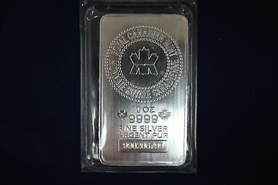 10 oz Silver Bar Royal Canadian Mint (RCM) - Sealed