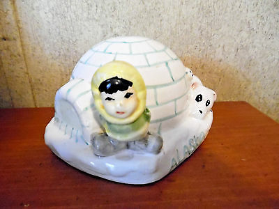 Alaska Souvenir Bank Igloo 1960'S
