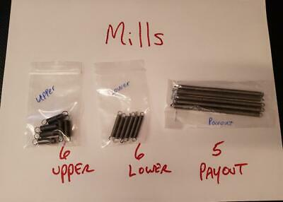 Mills Payout Springs Set Replacment Springs For Antique Slot Machine Mills