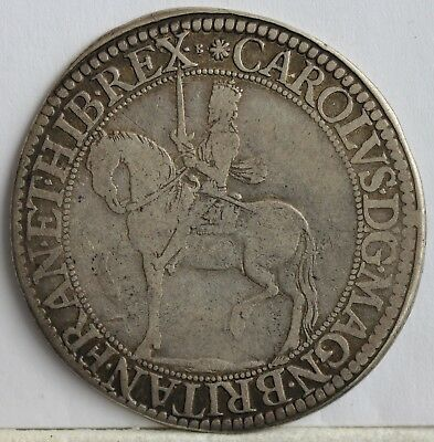 Scotland. Charles I Thirty Shillings, 3rd Coinage, Briot, London Obverse Die.