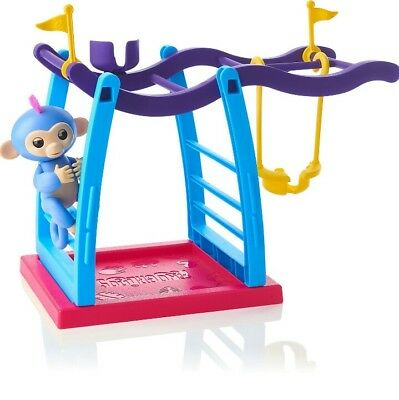 A Genuine Fingalings Wow Wee Liv baby monkey and playground set. Uk seller